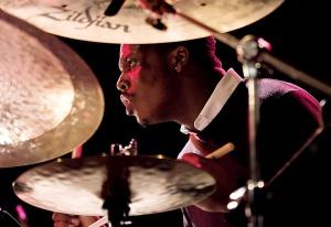 Justin Faulkner drummer from Branford Marsalis Quartet